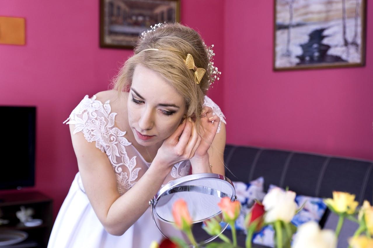 Makijaż fryzura ślubna dojazd do domu
