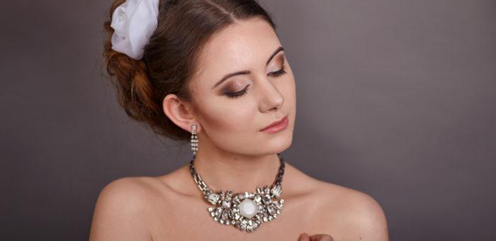 Makijaż ślubny w brązie